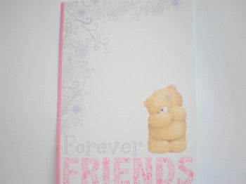 Exercise Book: Forever Friends pink/white