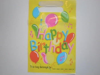 Happy Birthday Party Bags