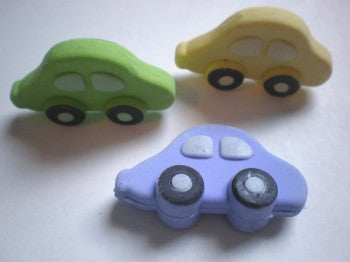 Cars Rubbers