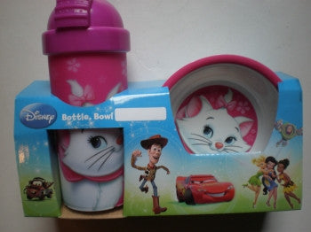 Aristocats Bowl & Bottle