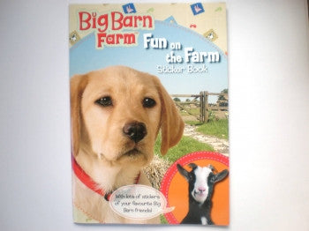 Big Barn Farm Sticker Activity Book