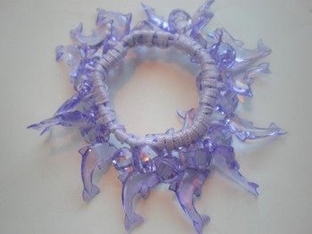 Dolphin Beaded Hair Elastic