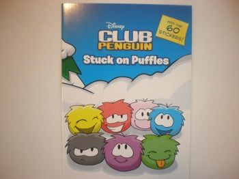 Club Penguin Sticker Book: Puffles