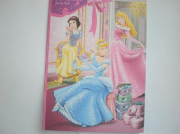Exercise Book: Disney Princess
