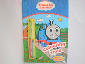 Thomas The Tank Engine Colouring Time