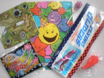 Boys Party Bag:  99p
