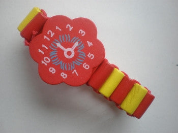 Wooden Toy Watch