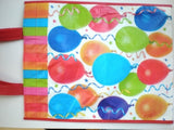 Large Balloons Tote Gift Bag