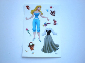 Disney Princess Dressing Sticker