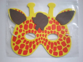 Foam Mask: Red Spot Giraffe