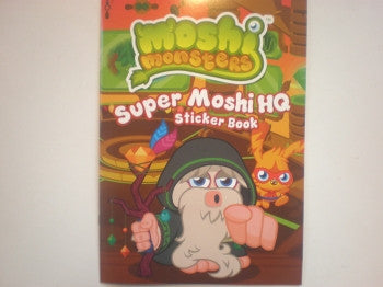 Moshi Monsters Sticker Book: Super Moshi HQ