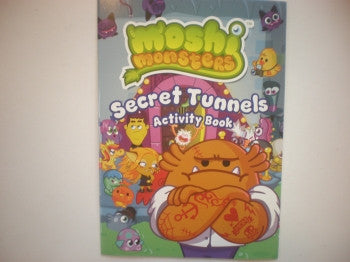 Moshi Monster Activity Book: Secret Tunnels