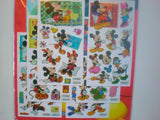 6 x Disney Mickey Mouse and Friends Sticker Sheets