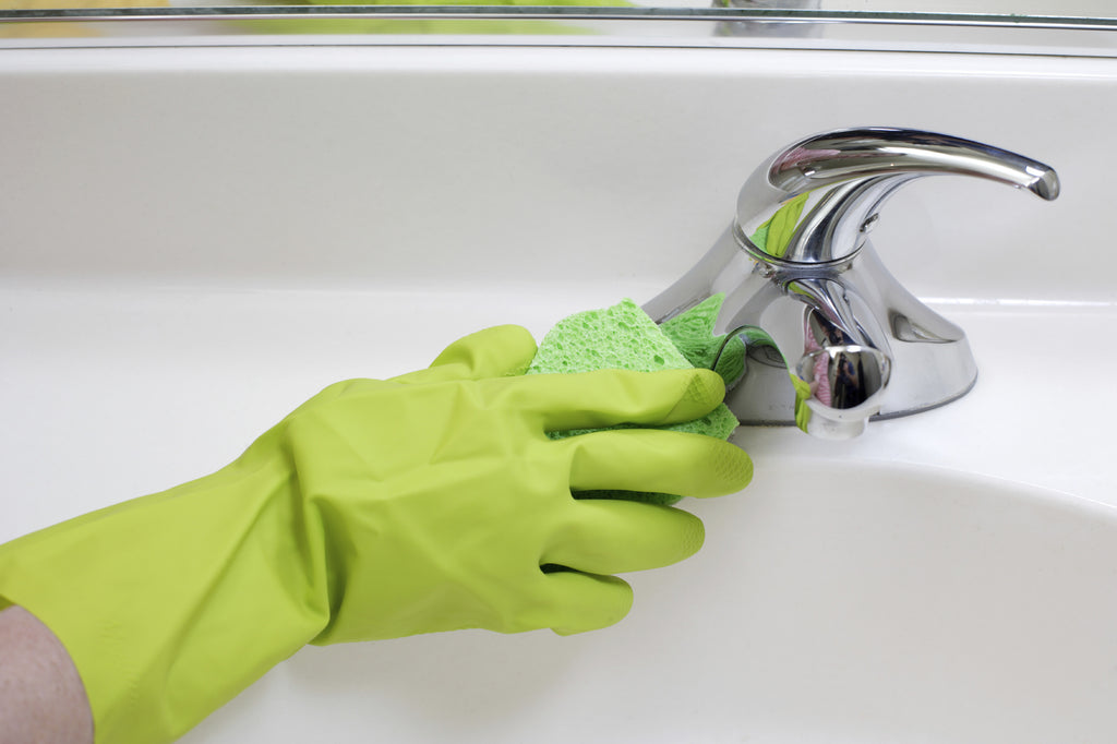 Green Cleaning Bathroom Tips