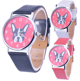 Custom Designed Dog Watch (Boston Terrier) (3 Designs)