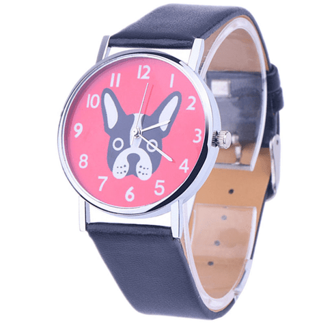 Custom Designed Dog Watch (Boston Terrier) (FREE GIVEAWAY)