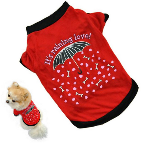 Dog Shirt (Raining Love) (FREE + Shipping)