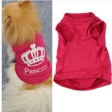 Custom Dog Shirt (Princess) (XS/S/M/L)