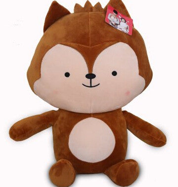 DOTS Cute Plush Gift (Wolf King & Rabbit)