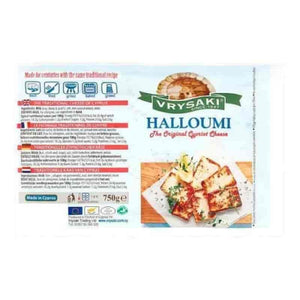 Buy Vrysaki Halloumi 750g - Get Fresh & Fruity - Cheese & Butter - Get Fresh & Fruity Alton - Shop Local Today