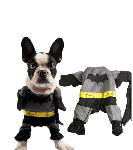 Batman Dog Outfit Apparel
