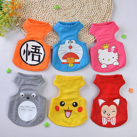 Cartoon Chihuahua Pet Clothes