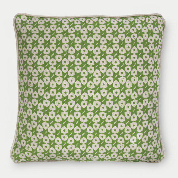 <strong>Star Dot Cushion</strong><br>Pea