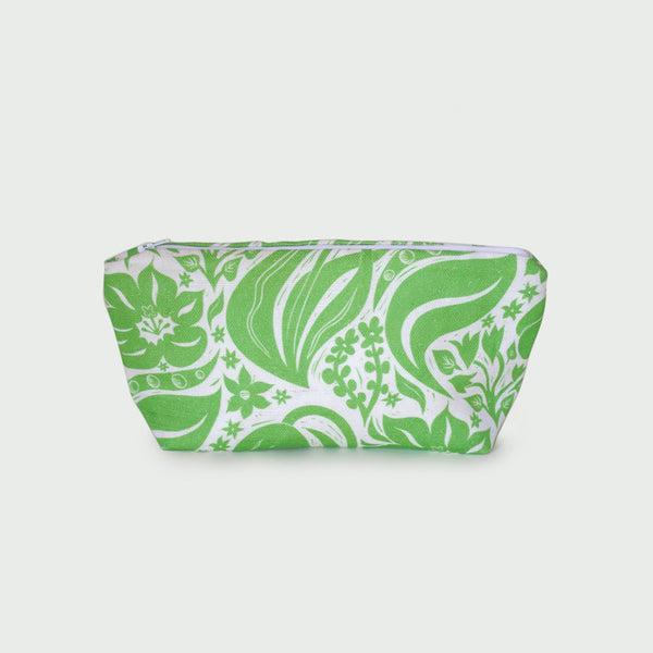 <strong>Tulip Makeup Bag</strong><br>Parakeet