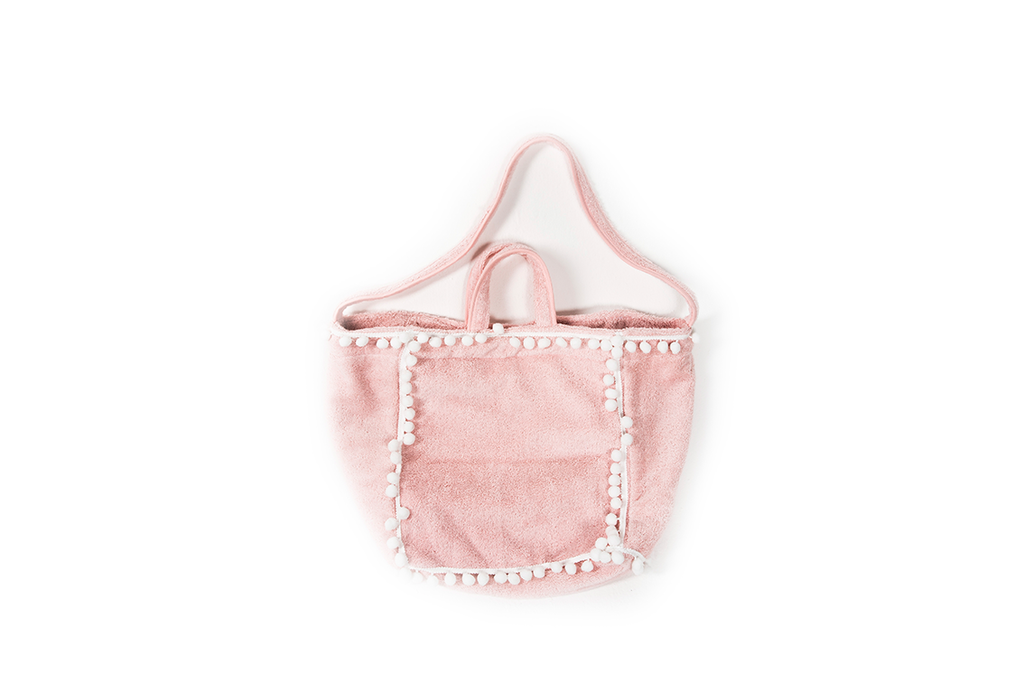 POMPOM Beachbag Rosa