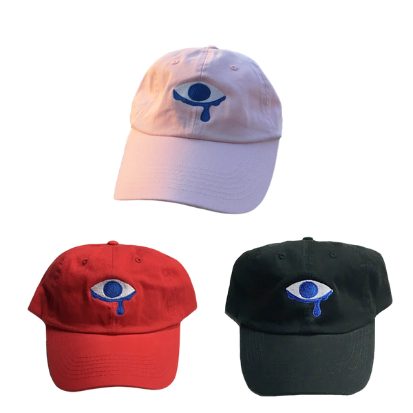 Embroidered Eye Hat
