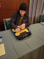 Charlie Coyle Boston Bruins Autographed Custom Home Black or Road White style jerseys w/JSA Witnessed coa