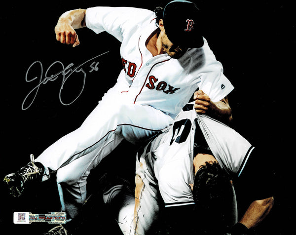 Joe Kelly Boston Red Sox Autographed 8x10 Fight Photo with Full Time Authentics COA