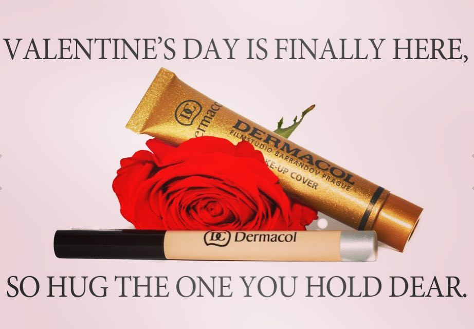 Valentine's Kiss with 16h lip color from Dermacol