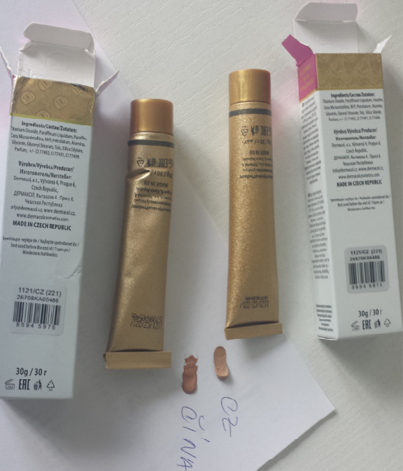 Dermacol Foundation Original vs. Fake