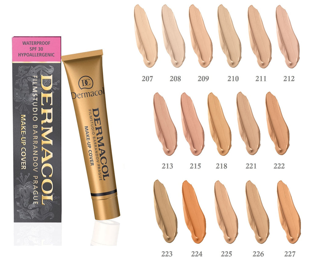 How to choose the best Dermacol shade?
