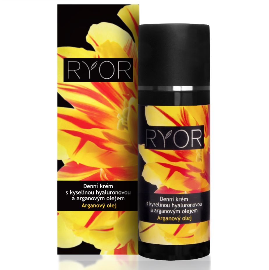 Ryor Day Cream with Hyaluronic Acid and Argan Oil