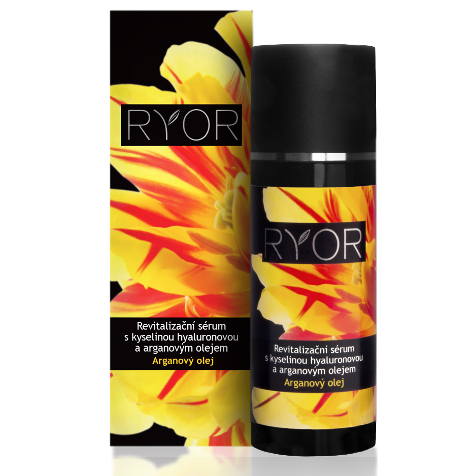 Ryor Revitalizing Serum with Hyaluronic Acid and Argan Oil