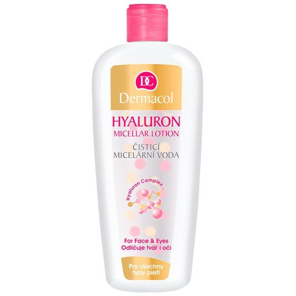 Fabled Look - Dermacol Hyaluron cleansing micellar lotion