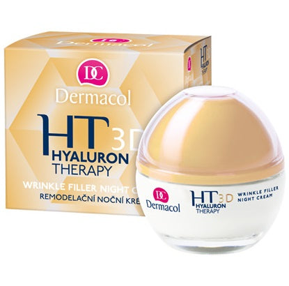 Dermacol 3D Hyaluron therapy wrinkle filler night cream
