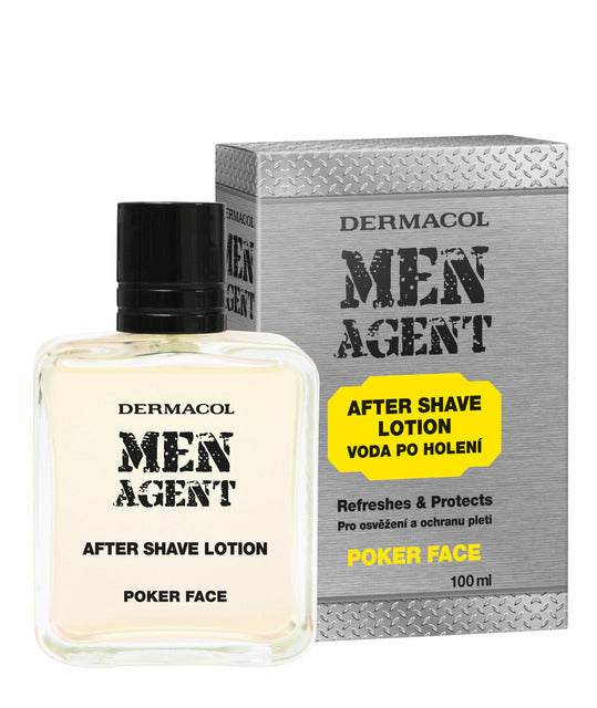 Fabled Look - Dermacol Men agent after shave lotion poker face