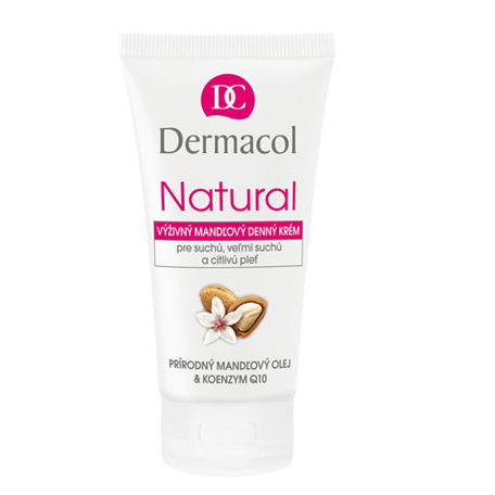 Natural almond day cream tube
