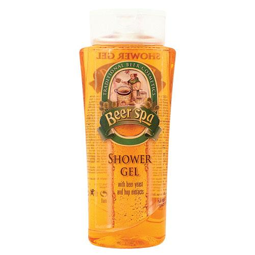 Beer spa shower gel