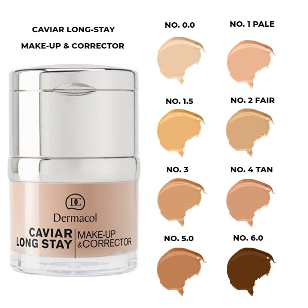 Dermacol Caviar long-stay make-up & corrector
