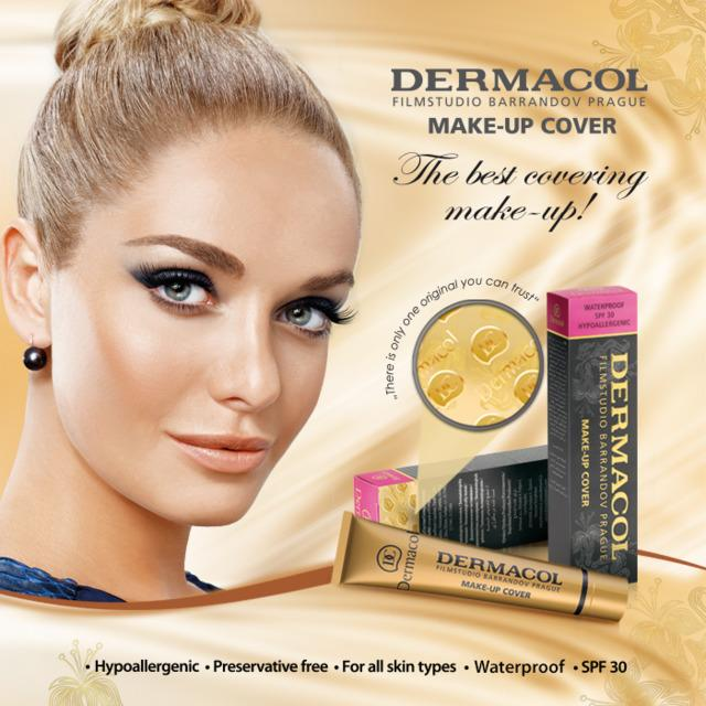 Fabled Look - Foundation Dermacol Make-up Cover