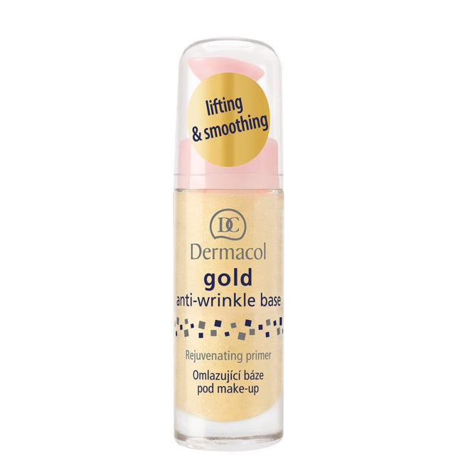 Dermacol Gold anti-wrinkle make-up base
