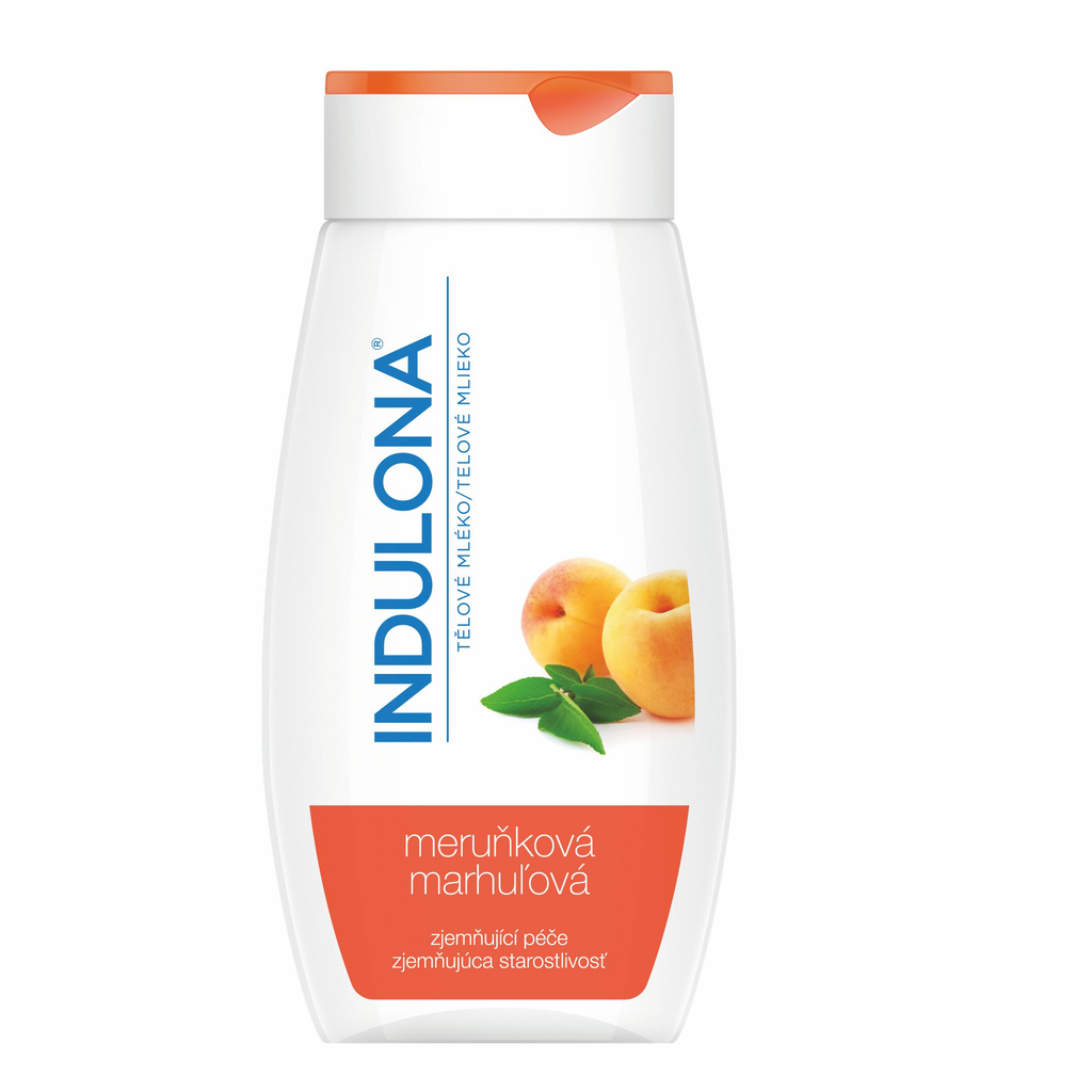 Indulona Apricot body milk