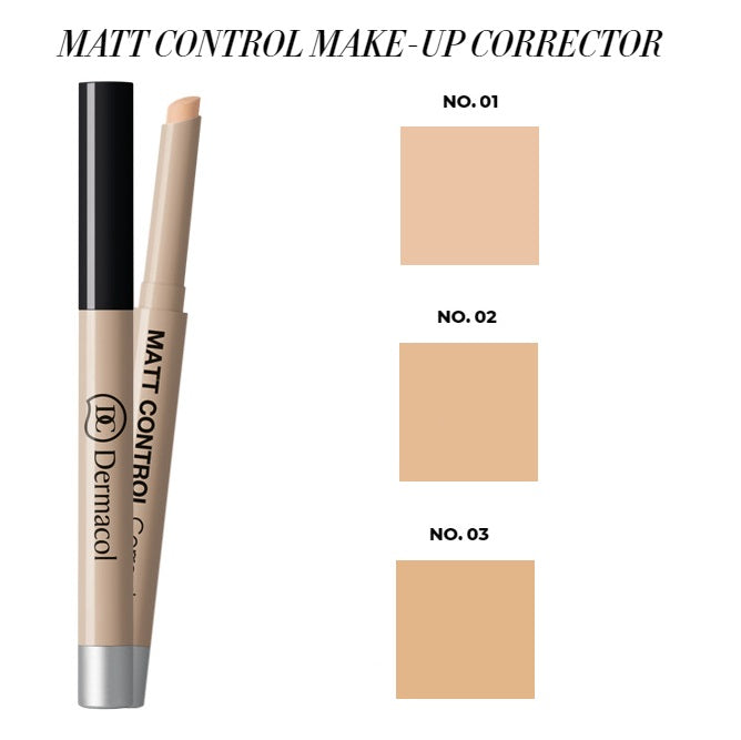 Dermacol Matt control make-up corrector