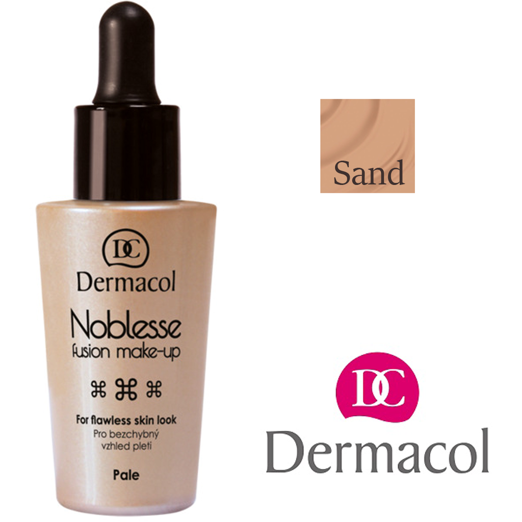 Fabled Look - Dermacol Noblesse fusion make-up SAND