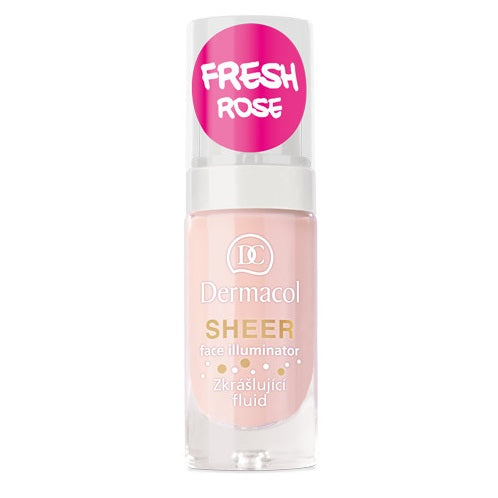 Fabled Look - Dermacol Sheer face illuminator Fresh Rose
