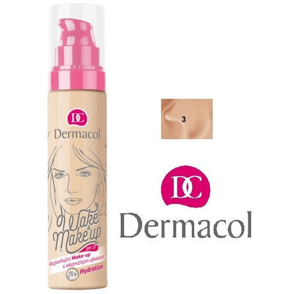 Fabled Look - Dermacol Wake & make-up 03